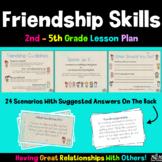 Friendship Skills- Social Scenario Cards (Creating positiv