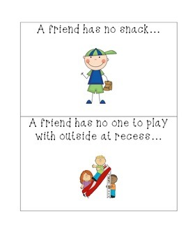 Friendship Skit Cards