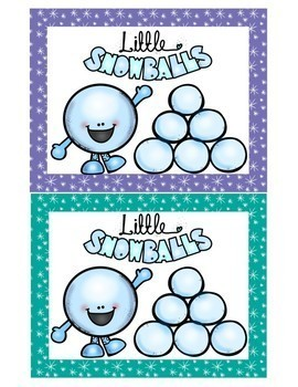 Social Skills Friendship Game:  Snowball Fight Game
