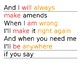 Friendship Song Logical Agreement Verb/Adverb Cards (Montessori)