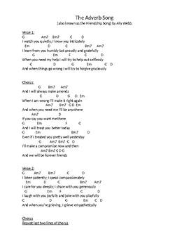 Friendship Song Lyrics and Chords