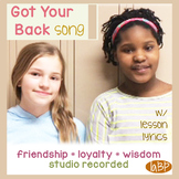 Community Classroom pop loyalty: friendship song