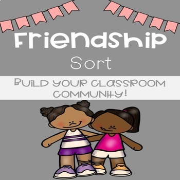 Friendship Sorting Activity