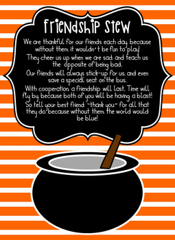 Friendship Stew - TWO Options