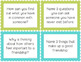 Friendship Task Cards Free Sample