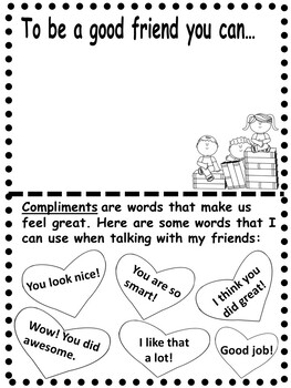Friendship Themed Literacy Activities For Kindergarten To Grade Two