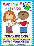Friendship Themed Literacy Activities For Kindergarten To