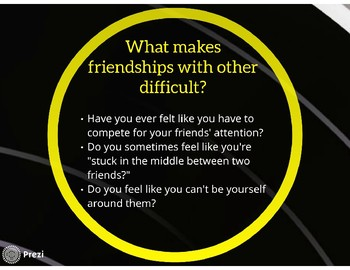Guidance Lesson: Friendship Triangles - Being the Middle Man