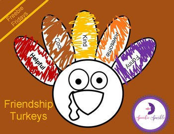 Friendship Turkeys - A Craft For Learning About Gratitude