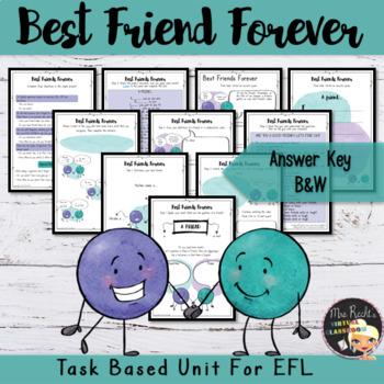 Friendship Unit - Best Friends Forever Project
