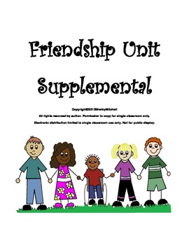 Friendship Unit Supplemental