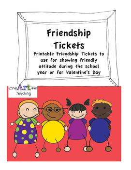 Friendship Valentine's Tickets