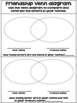 Friendship Venn Diagram