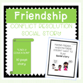 Conflict Resolution in Friendship Social Story for Early Education