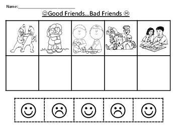 Friendship Worksheet by PPCDwithMrsPatterson | Teachers ...
