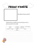 Friendship Writing Prompt (French)