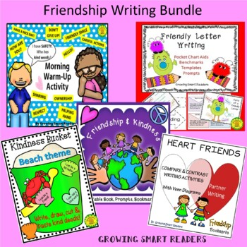 Friendship and Kindness Bundle (5 resources in one!)