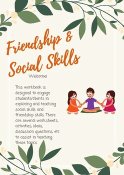 Friendship and Social Skills Workbook