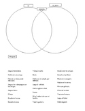 AR Activities / AR verbs in Spanish Friendship circle