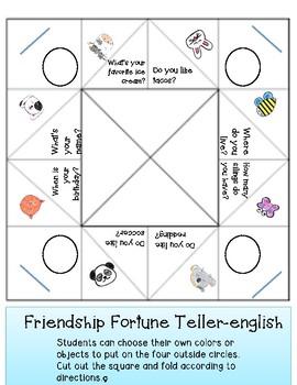 Friendship fortunes