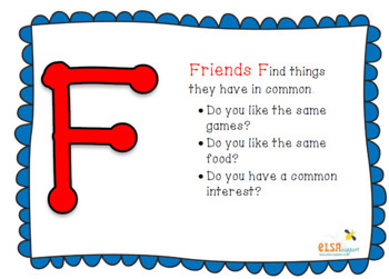 Friendship intervention lesson plans and resources