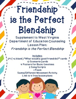 Friendship is the Perfect Blendship: Supplement for WV Cou