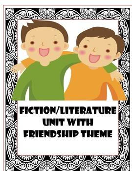 Friendship-themed fiction reading unit bundle