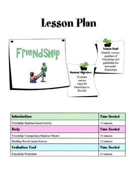 Friendships - Ways For It To Flourish Lesson