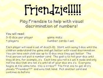 Friendzie-Math Game