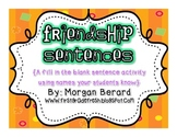 Frienship Sentences