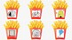 Fries and Hamburgers Silent E Word Matching Literacy Center Activity Hands On