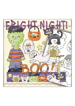 Fright Night Clipart Collection