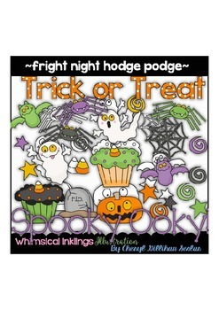 Fright Night Hodge Podge Clipart Collection
