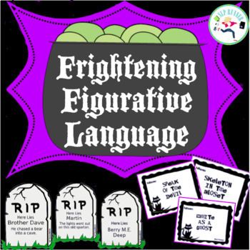 Halloween Figurative Language (middle and upper grades)