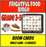 Frightful Food Bingo