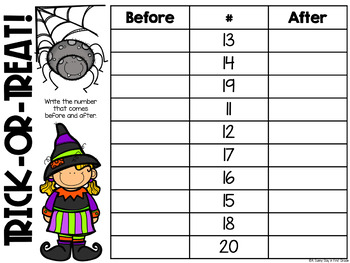 Frightful Fun! {6 Halloween Math Games & Activities}