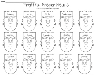 Frightful Proper Nouns