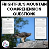 Frightful's Mountain Complete Novel Comprehension Questions