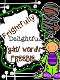 Frightfully Delightful GH Word {{FREEBIE}}