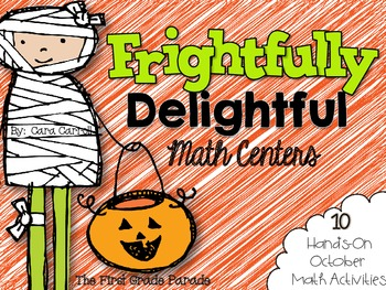 Frightfully Delightful Math Centers {10 Hands-On October Math Activities}