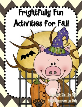 Frightfully Fun Fall Activities