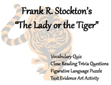 "Frightfully Fun: Frank R. Stockton's ""The Lady or the Tiger"""