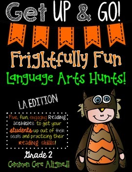 Frightfully Fun Language Arts Hunts-SECOND GRADE EDITION
