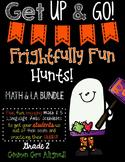 Frightfully Fun Language Arts & Math Hunts BUNDLE-SECOND GRADE EDITION