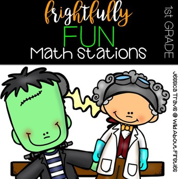 Frightfully Fun MATH Centers! {10 Hands-On October MATH Centers}