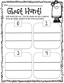Frightfully Fun Math Hunts-FIRST GRADE EDITION