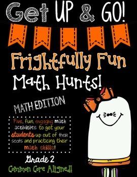 Frightfully Fun Math Hunts-SECOND GRADE EDITION
