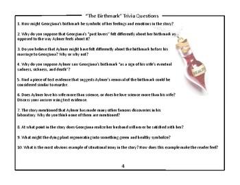 "Frightfully Fun: Nathaniel Hawthorne's ""The Birthmark"""