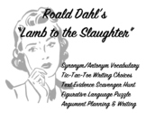 "Frightfully Fun: Roald Dahl's ""Lamb to the Slaughter"""