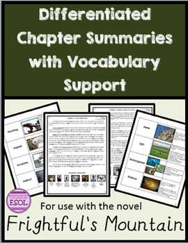 Frightful's Mountain Differentiated Chapter Summaries and